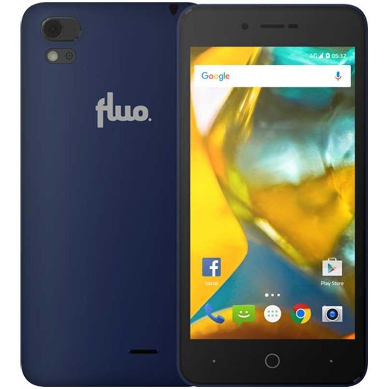 ΚΙΝΗΤΟ ΤΗΛΕΦΩΝΟ Fluo F Plus DS Blue
